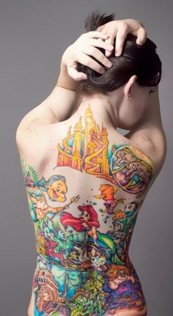 Mermaid tattoos022