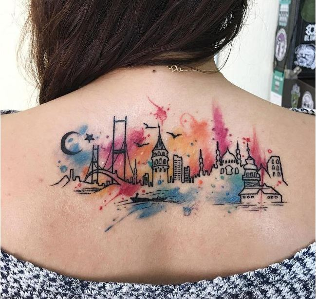 Map Tattoos For Girl