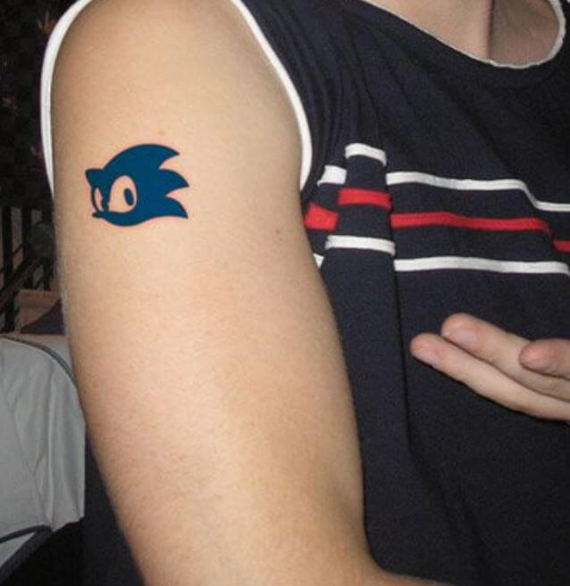 Small Bicep Tattoos For Men