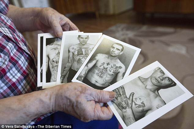 The more tattoos a criminal has, the higher his authority is, according to the veteran criminologist