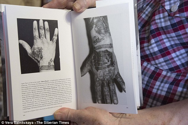 His books on the subject contain maps to help understand the meanings of the tattoos based on where they are located on the body