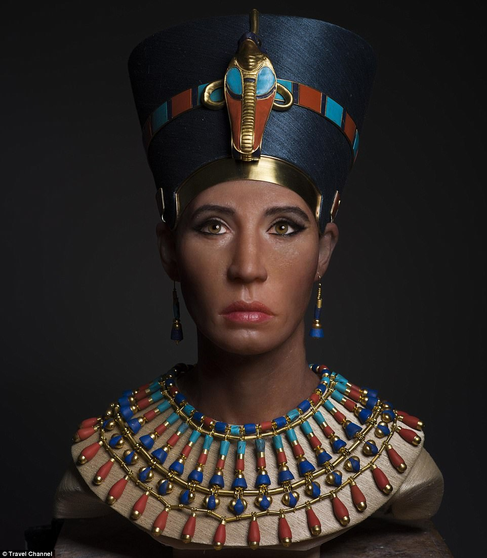 The extraordinary sculpture provides an accurate depiction of her appearance in life and bolsters the theory that the mummy of King Tutankhamun