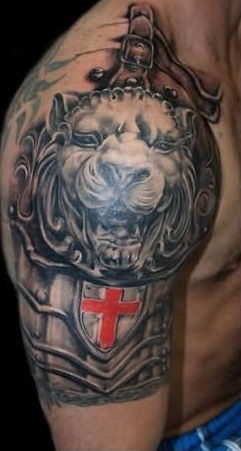 shoulder-tattoos-armour-crest