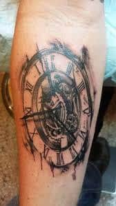 Melting Clock Tattoo Meaning 1