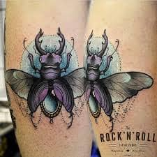 Beetle Tattoo 32