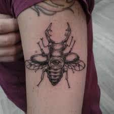 Beetle Tattoo 6