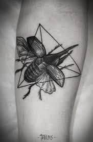 Beetle Tattoo 7