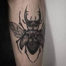Beetle Tattoo 8