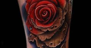 Dying Rose Tattoo 14