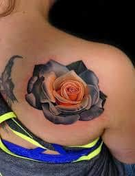 Dying Rose Tattoo 9
