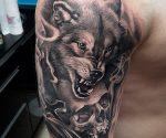 Тату волка значение на зоне – Значение тату волк