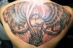 Тату ангел на спине мужские – Тату ангелов на спине для парней — 147 лучших фото татуировок 2019 года
