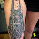 Тату замок дракулы – значение, 26 фото татуировки, эскизы