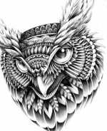 Значение тату сова у парня на руке – Tattoo • Значение тату: Сова