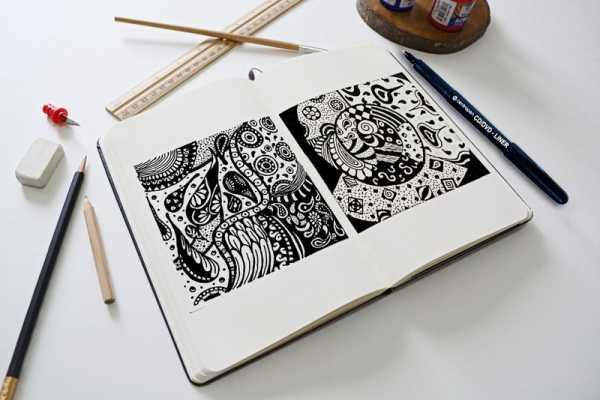 39 карточек в коллекции рисунки чёрной ручкой »