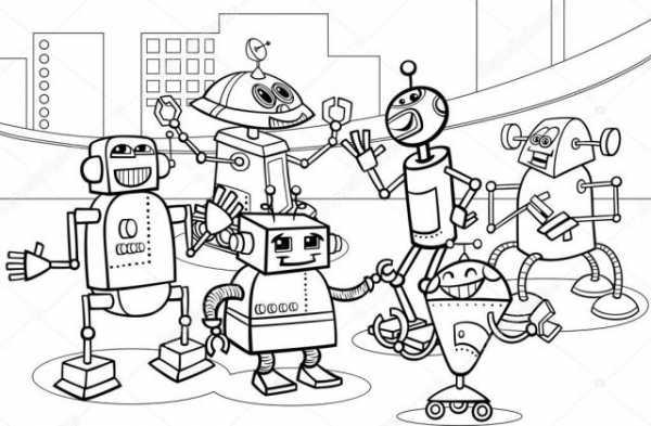 Роботы из мультика картинки – Ой!